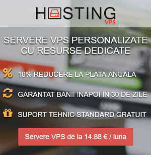 Hosting Servere VPS in Romania